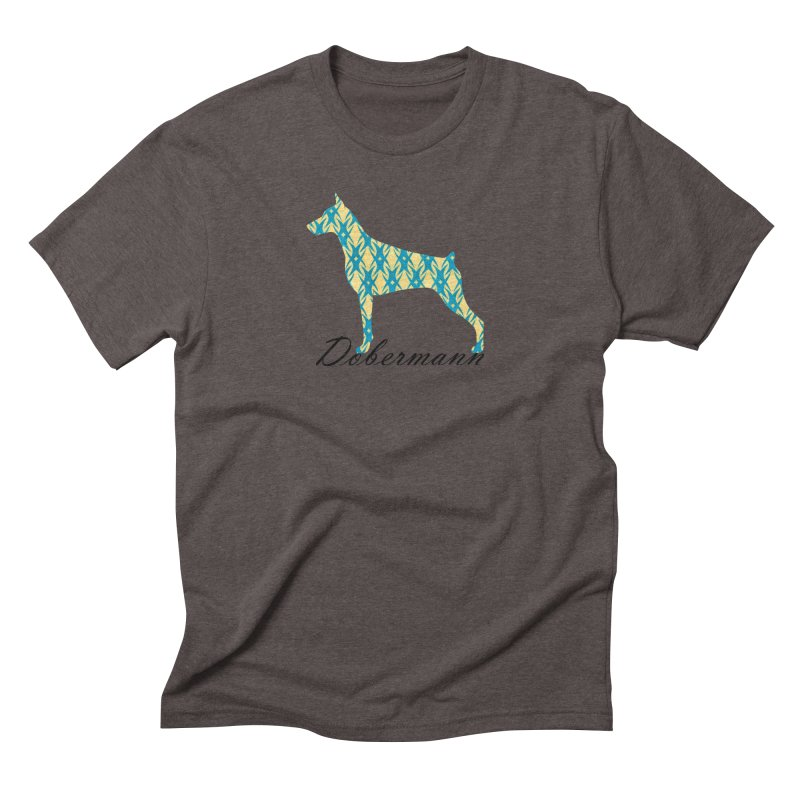 Dobermann Men's Triblend T-Shirt by ArtPharie's Artist Shop