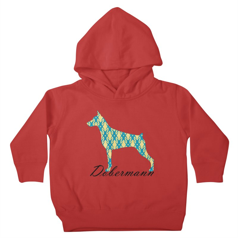 Dobermann Kids Toddler Pullover Hoody by ArtPharie's Artist Shop