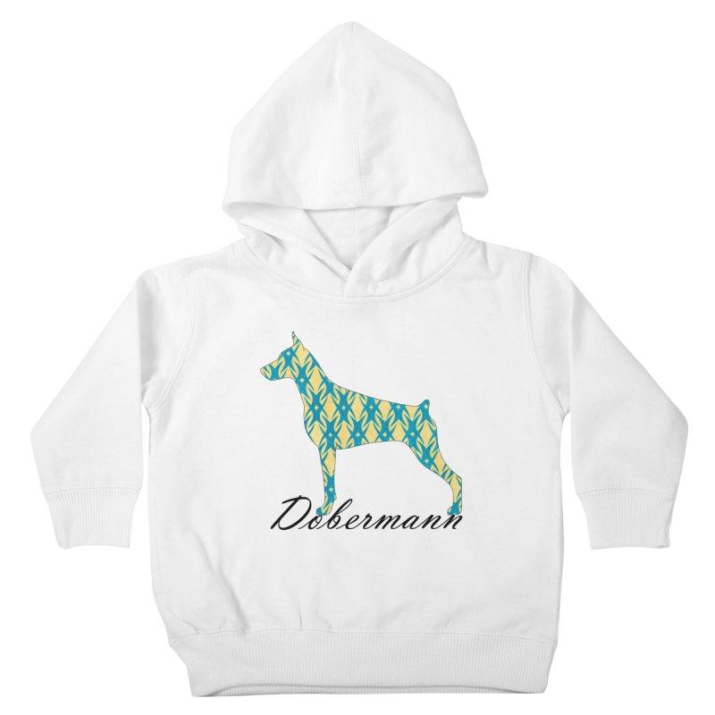 Dobermann Kids Toddler Pullover Hoody by ArtPharie's Artist Shop