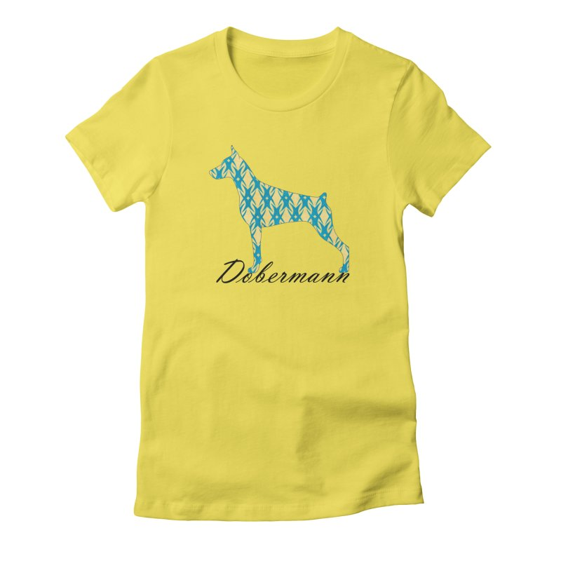 Dobermann Women's T-Shirt by ArtPharie's Artist Shop