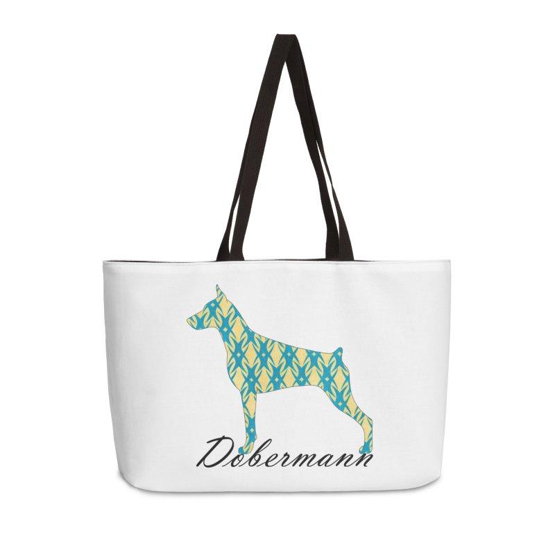 Dobermann Accessories Weekender Bag Bag by ArtPharie's Artist Shop