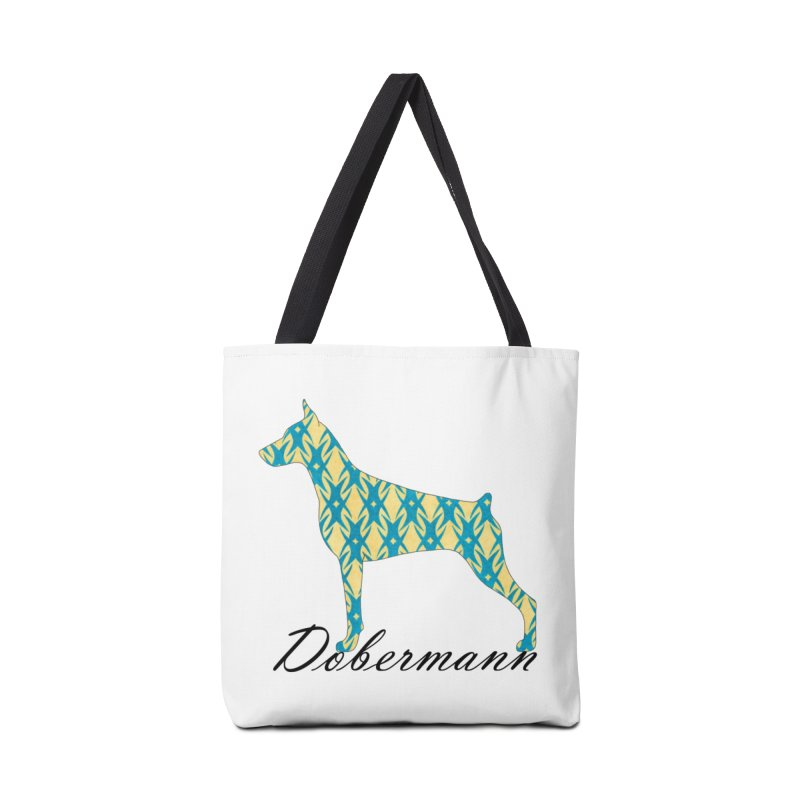 Dobermann Accessories Bag by ArtPharie's Artist Shop