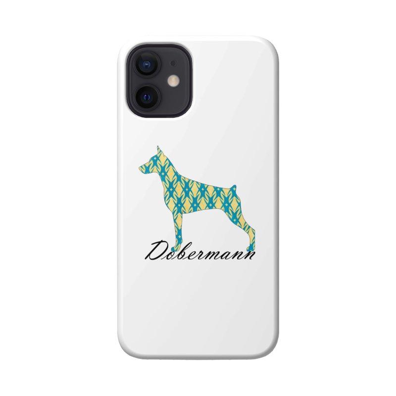 Dobermann Accessories Phone Case by ArtPharie's Artist Shop