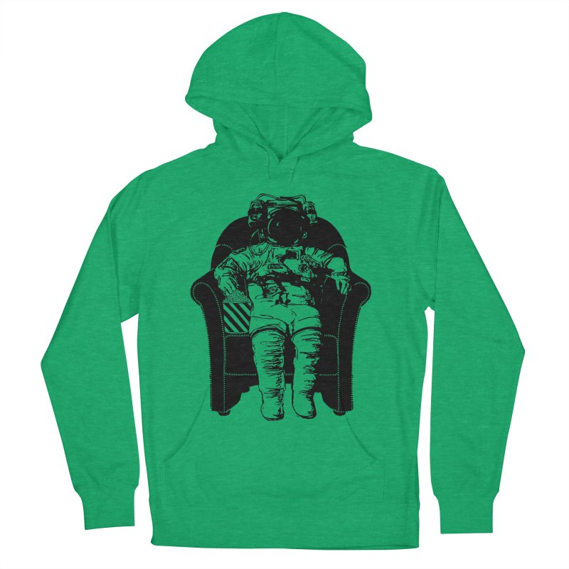 Blast Off Men's French Terry Pullover Hoody by Artrocity's Artist Shop