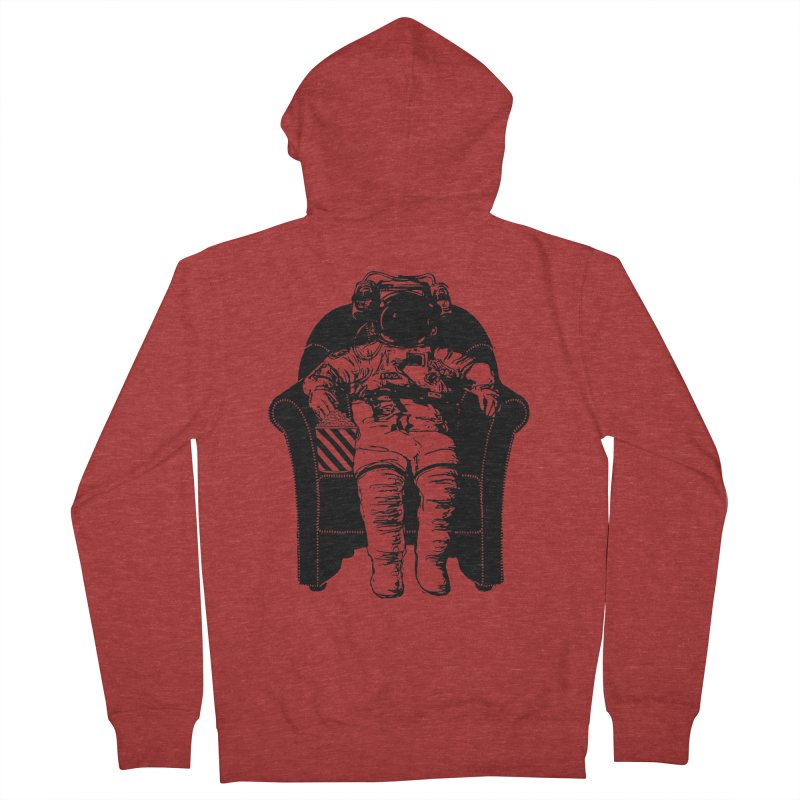 Blast Off Men's Zip-Up Hoody by Artrocity's Artist Shop