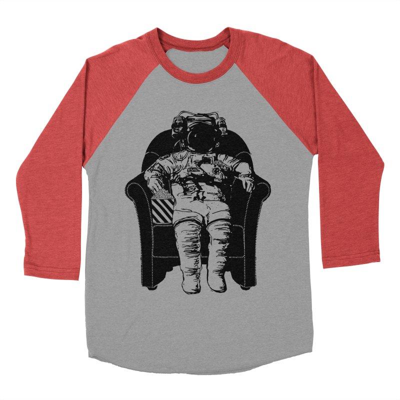 Blast Off Men's Baseball Triblend Longsleeve T-Shirt by Artrocity's Artist Shop