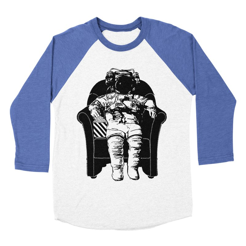 Blast Off Men's Baseball Triblend Longsleeve T-Shirt by Artrocity's Artist Shop