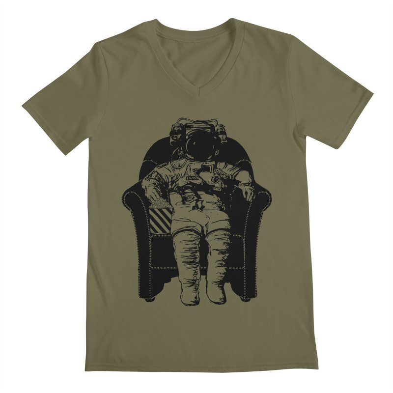Blast Off Men's Regular V-Neck by Artrocity's Artist Shop
