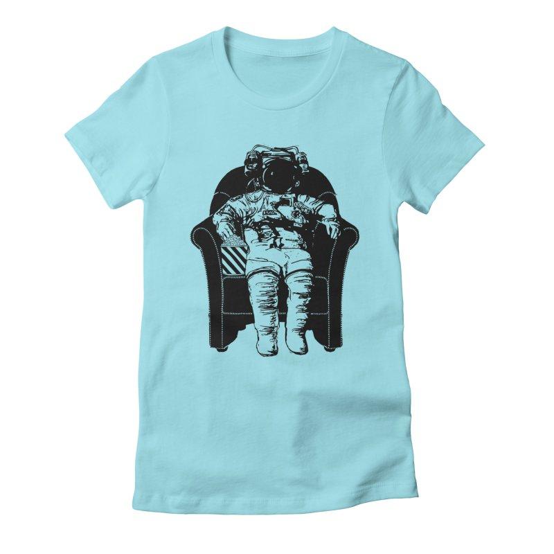 Blast Off Women's Fitted T-Shirt by Artrocity's Artist Shop