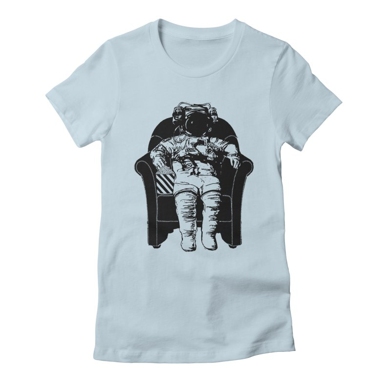 Blast Off Women's Fitted T-Shirt by Artrocity's Artist Shop