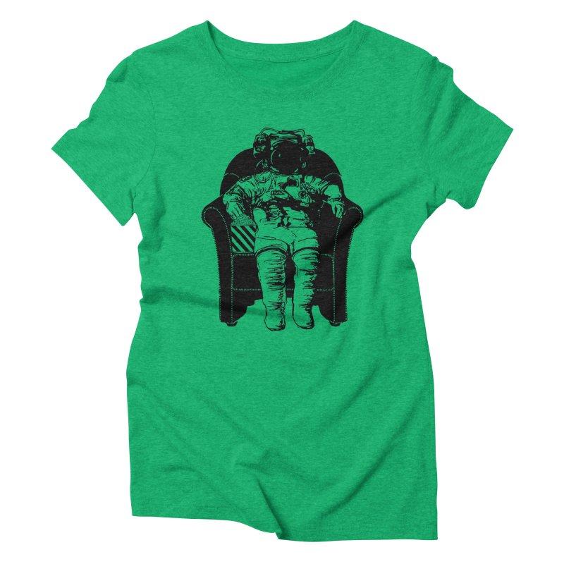 Blast Off Women's Triblend T-shirt by Artrocity's Artist Shop