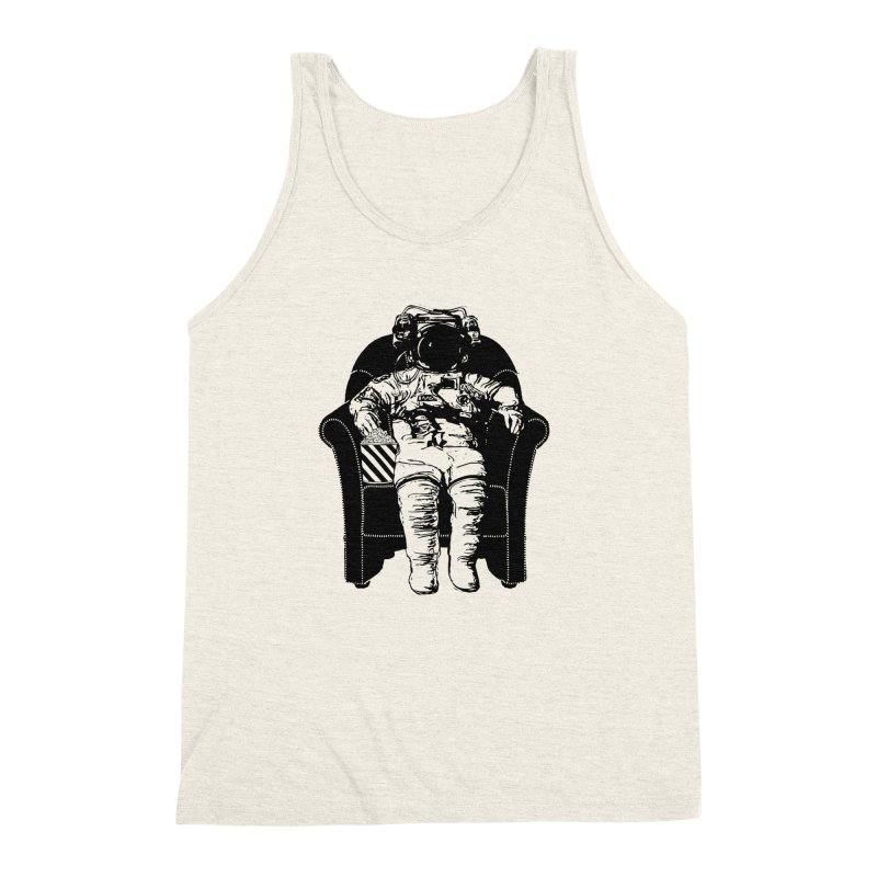 Blast Off Men's Triblend Tank by Artrocity's Artist Shop