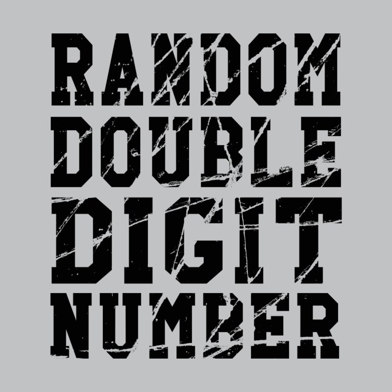 Random Double Digit Number None  by Artrocity's Artist Shop
