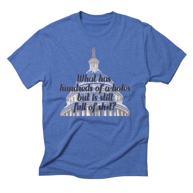 Full of it Men's Triblend T-Shirt by artross's Artist Shop
