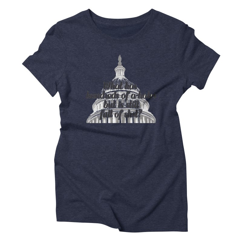 Full of it Women's Triblend T-shirt by artross's Artist Shop