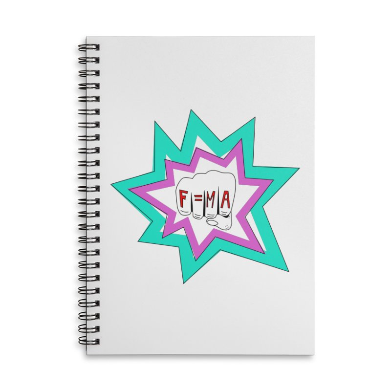 force Accessories Lined Spiral Notebook by Arts + Science