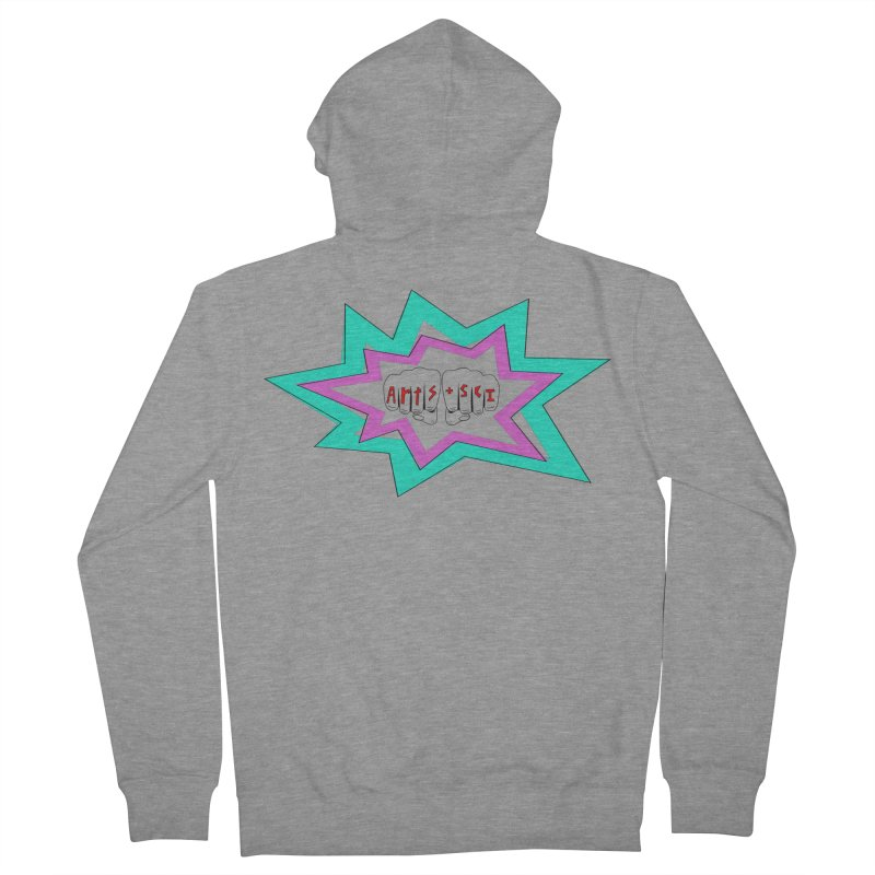 a+s tatt Women's French Terry Zip-Up Hoody by Arts + Science
