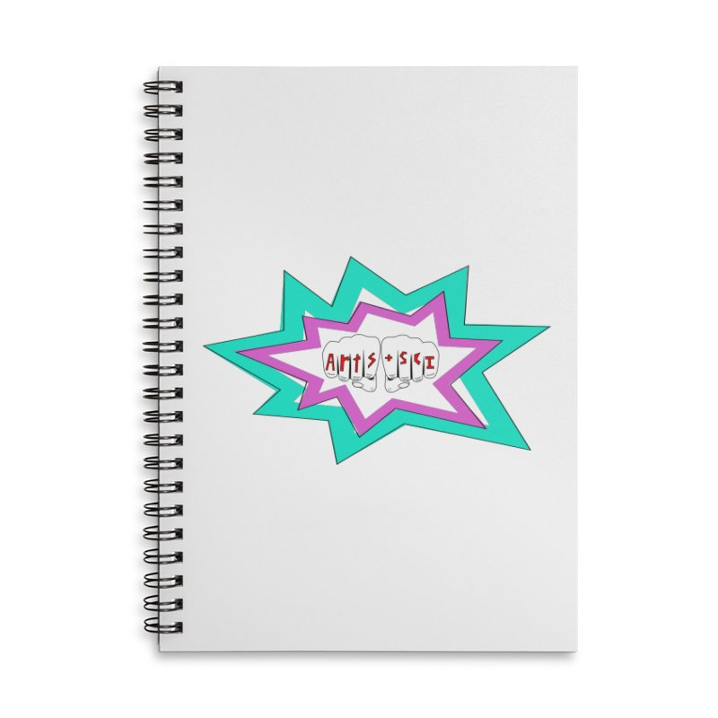 a+s tatt Accessories Lined Spiral Notebook by Arts + Science