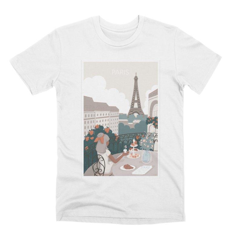 Paris Men's T-Shirt by Art Side of Life's Shop