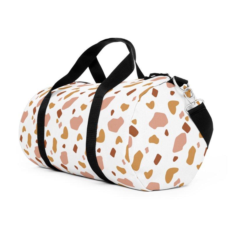 Rocky Path Pattern in Duffel Bag by Art Side of Life's Shop