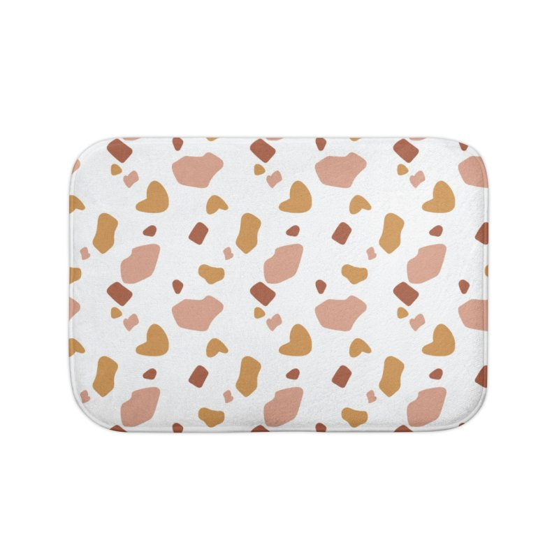 Rocky Path Pattern Home Bath Mat by Art Side of Life's Shop