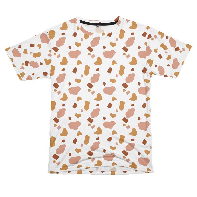 Rocky Path Pattern in Women's Unisex T-Shirt Cut & Sew by Art Side of Life's Shop