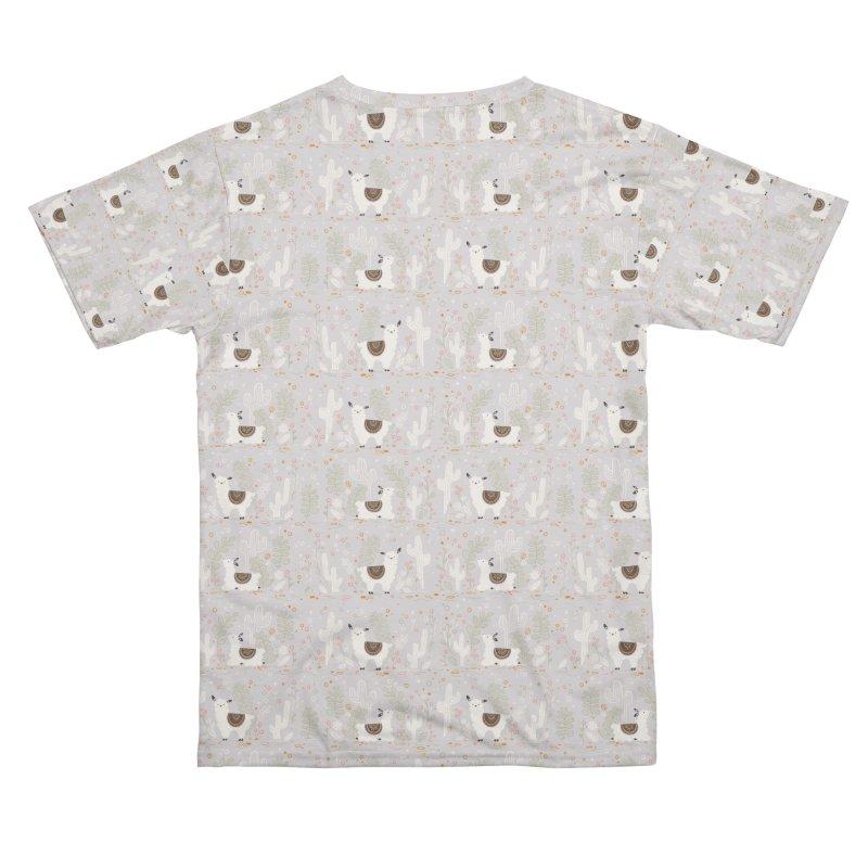 Lama Pattern Men's Cut & Sew by Art Side of Life's Shop