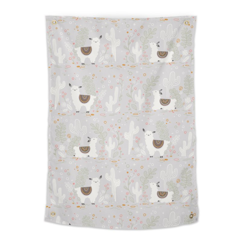 Lama Pattern Home Tapestry by Art Side of Life's Shop