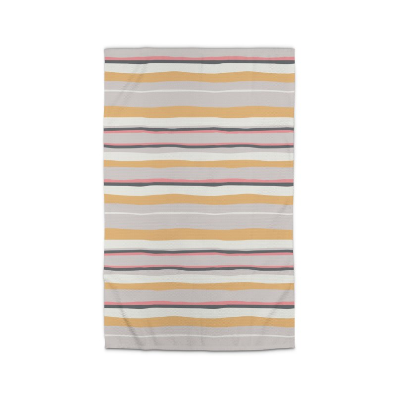 Autumn Stripes Pattern Home Rug by Art Side of Life's Shop