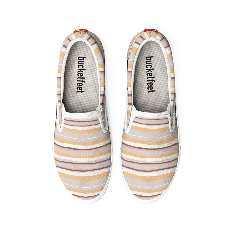 Autumn Stripes Pattern Women's Shoes by Art Side of Life's Shop