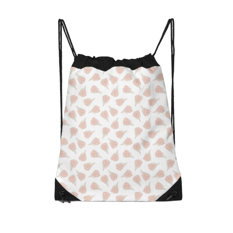 Floral Icecream Accessories Bag by Art Side of Life's Shop