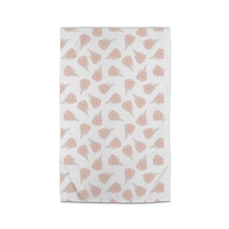 Floral Icecream Home Rug by Art Side of Life's Shop
