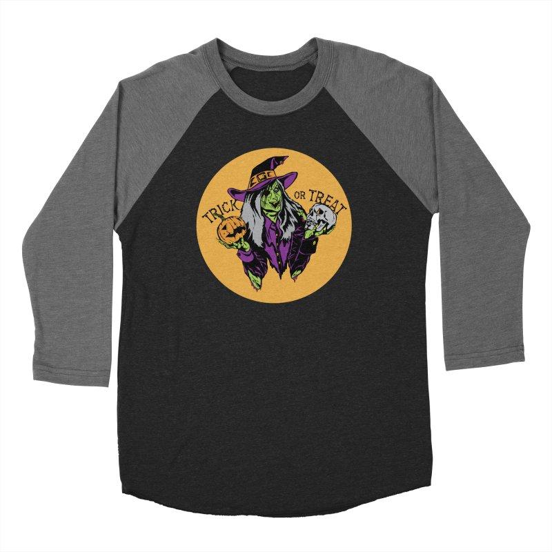 Trick or Treat Men's Baseball Triblend Longsleeve T-Shirt by ArtSkull's Threadless Shop