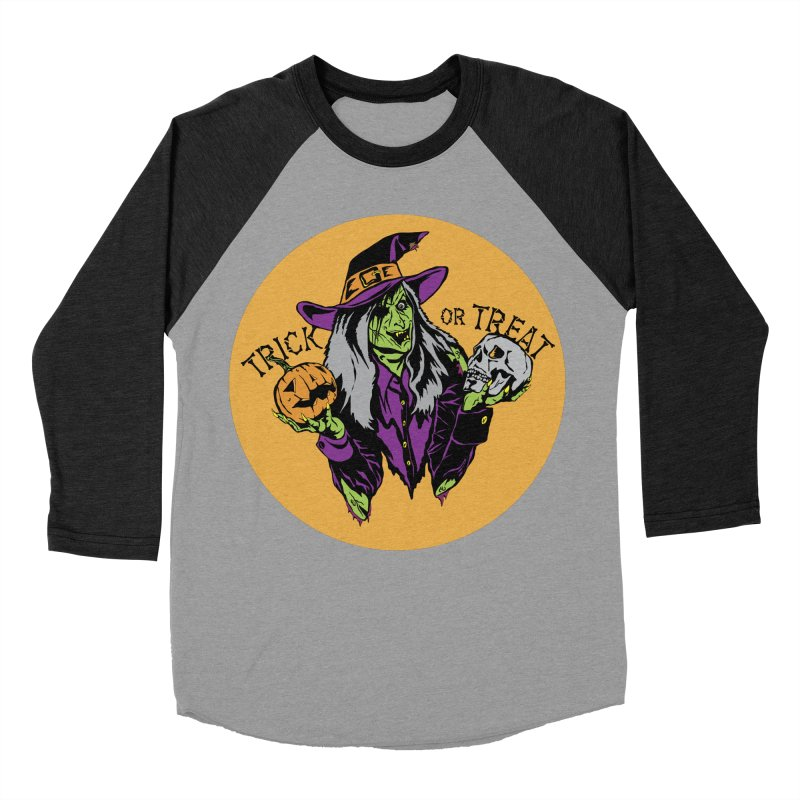 Trick or Treat Men's Baseball Triblend Longsleeve T-Shirt by ArtSkull's Threadless Shop