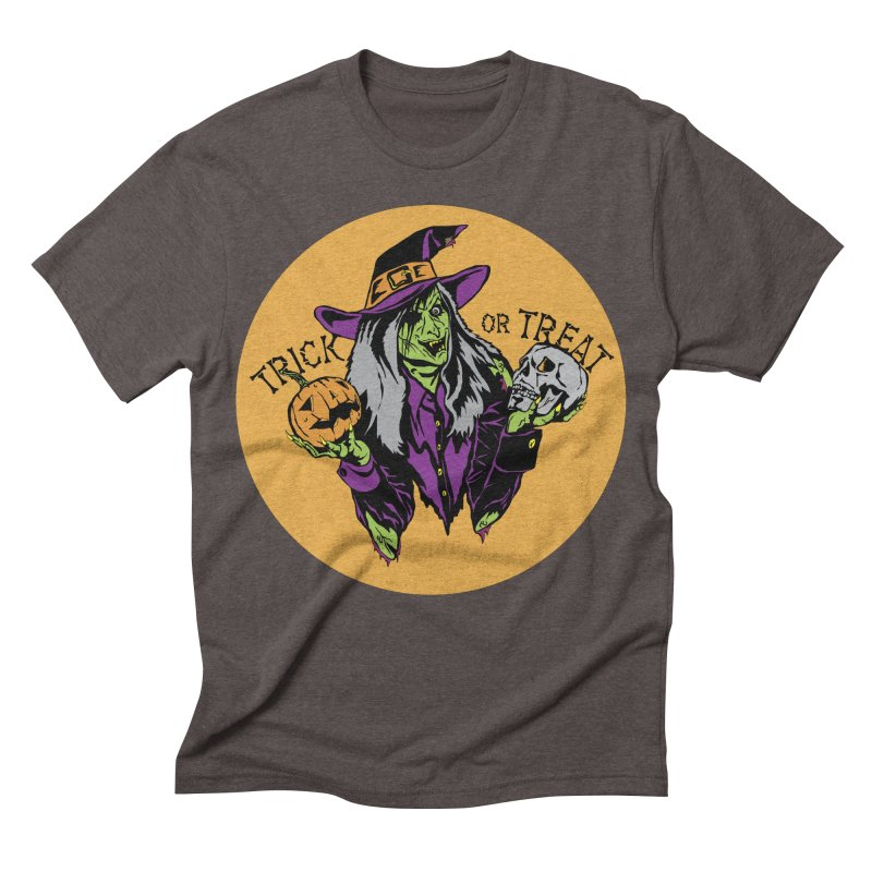 Trick or Treat Men's Triblend T-shirt by ArtSkull's Threadless Shop