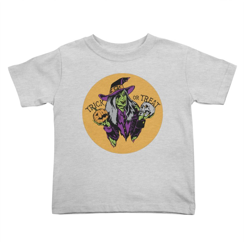 Trick or Treat Kids Toddler T-Shirt by ArtSkull's Threadless Shop