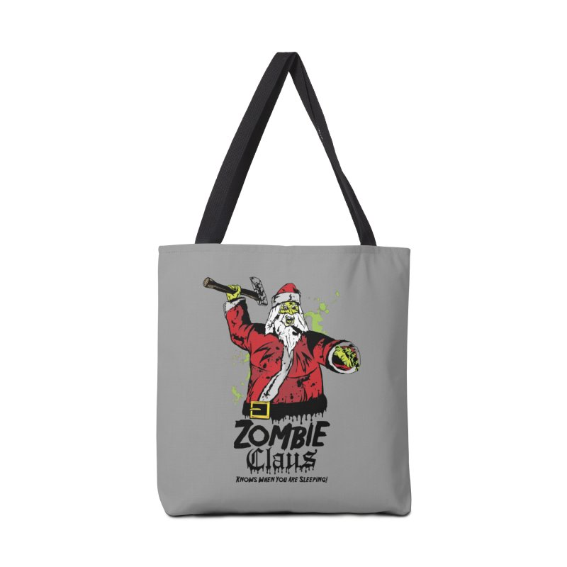 Zombie Claus Accessories Tote Bag Bag by ArtSkull's Threadless Shop