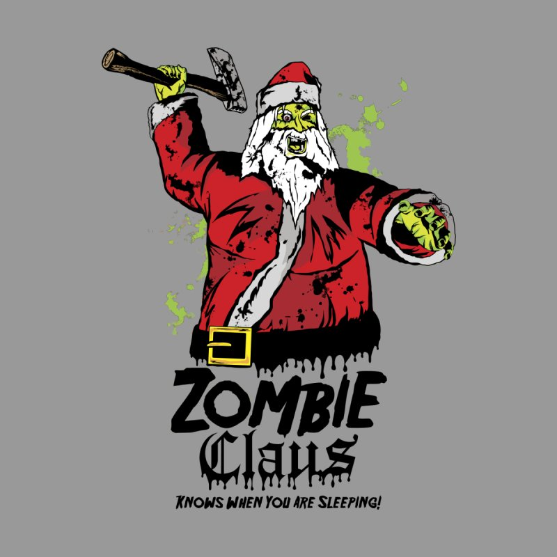 Zombie Claus Women's Longsleeve T-Shirt by ArtSkull's Threadless Shop
