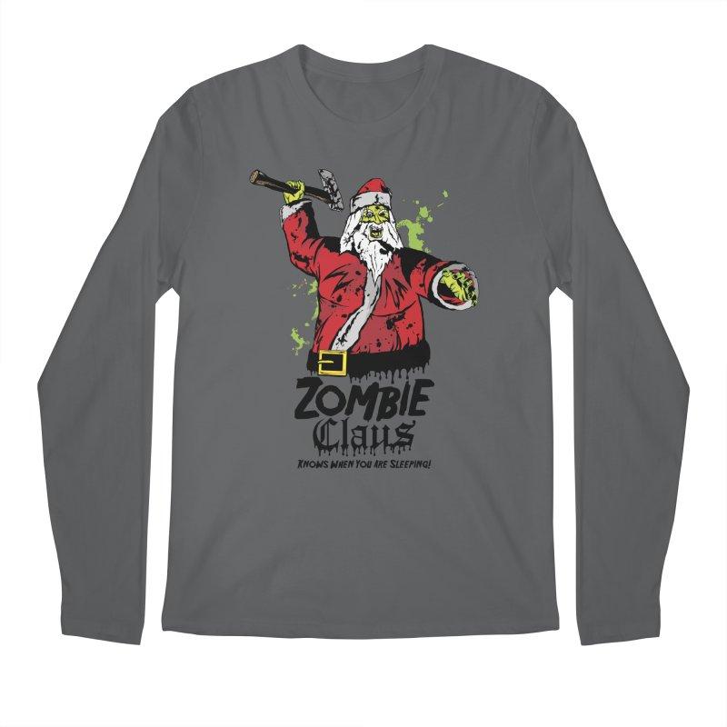 Zombie Claus Men's Longsleeve T-Shirt by ArtSkull's Threadless Shop