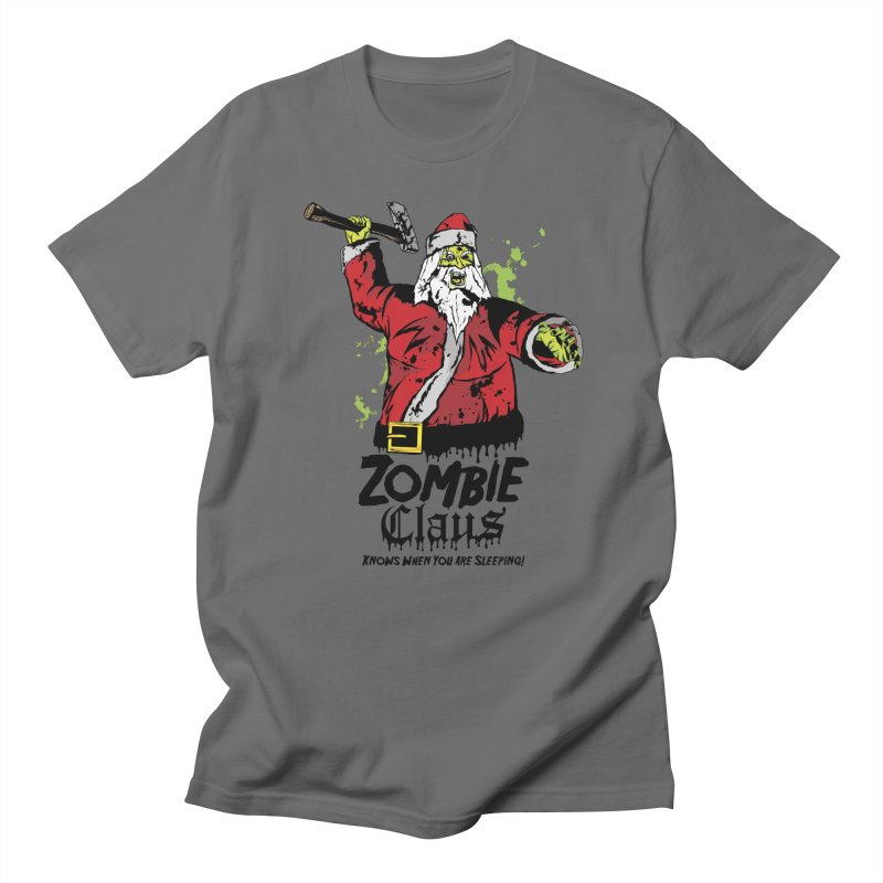 Zombie Claus Men's T-Shirt by ArtSkull's Threadless Shop