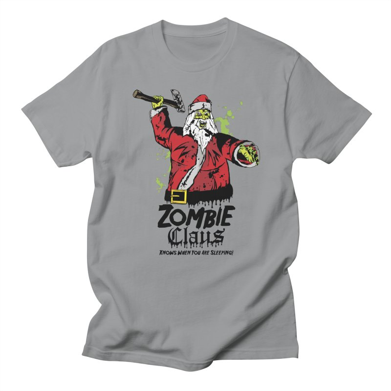 Zombie Claus Women's Regular Unisex T-Shirt by ArtSkull's Threadless Shop
