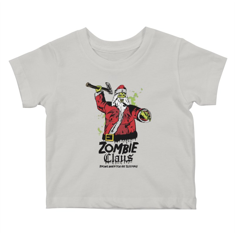 Zombie Claus Kids Baby T-Shirt by ArtSkull's Threadless Shop