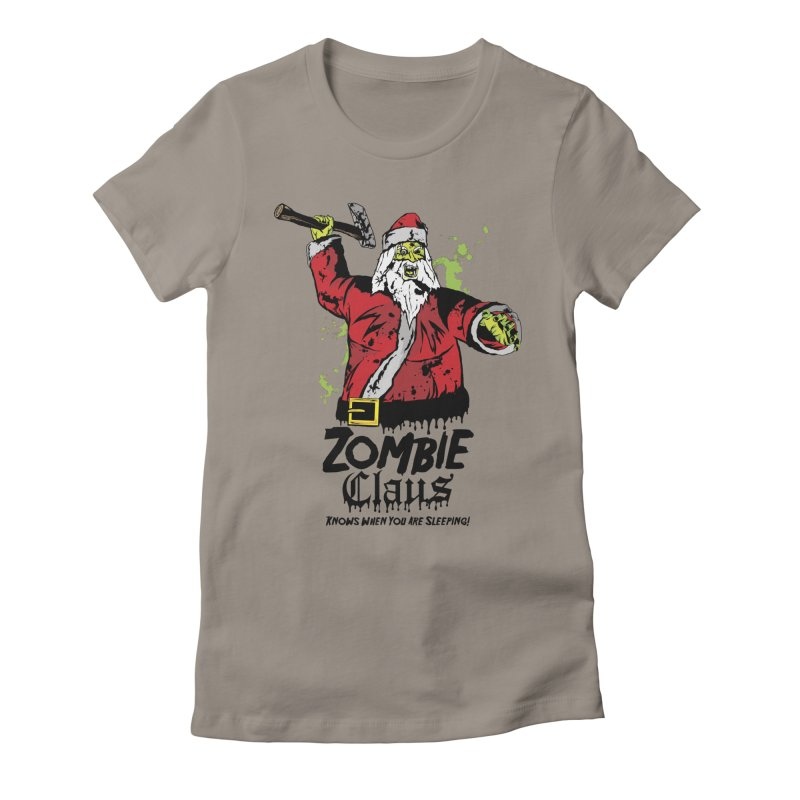 Zombie Claus Women's T-Shirt by ArtSkull's Threadless Shop