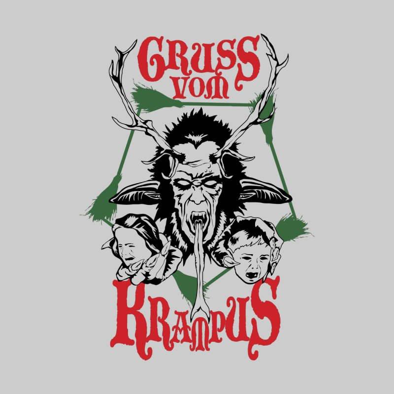 Gruss vom Krampus Women's Longsleeve T-Shirt by ArtSkull's Threadless Shop