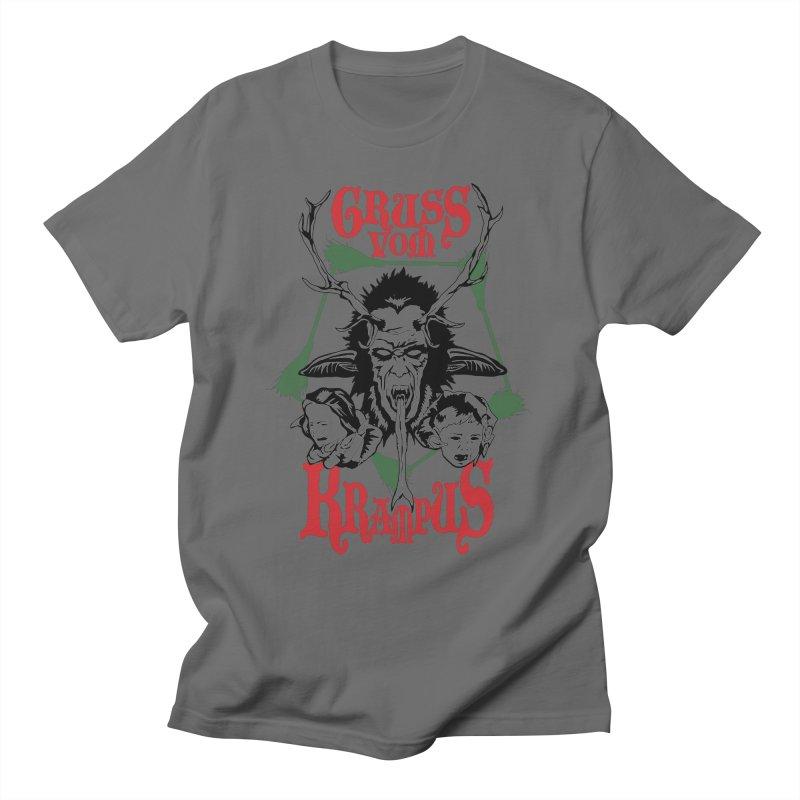Gruss vom Krampus Men's T-Shirt by ArtSkull's Threadless Shop