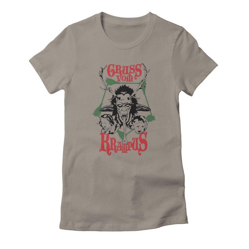 Gruss vom Krampus Women's T-Shirt by ArtSkull's Threadless Shop