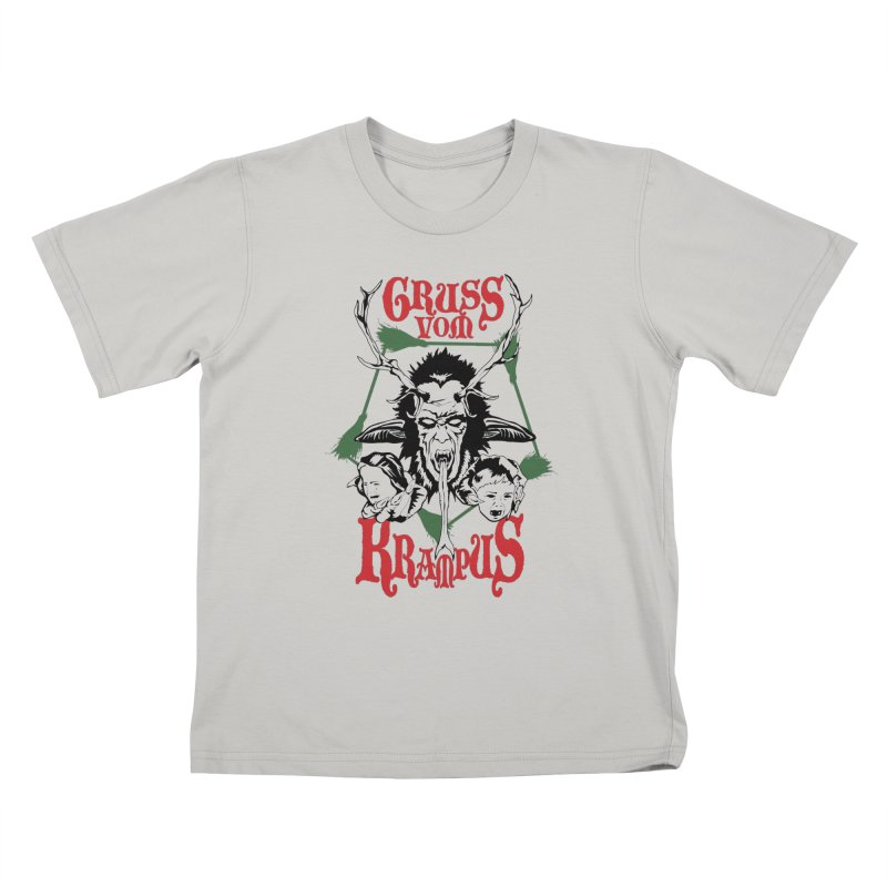 Gruss vom Krampus Kids T-Shirt by ArtSkull's Threadless Shop