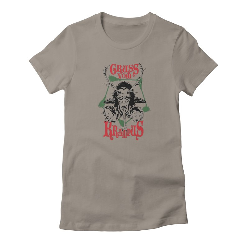 Gruss vom Krampus Women's T-Shirt by ArtSkull's Threadless Shop