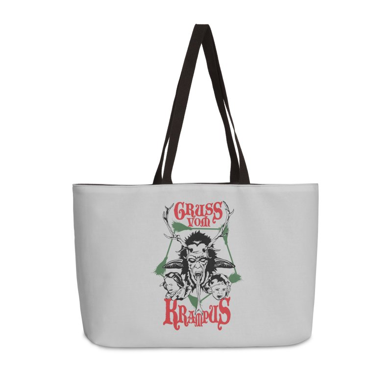 Gruss vom Krampus Accessories Weekender Bag Bag by ArtSkull's Threadless Shop