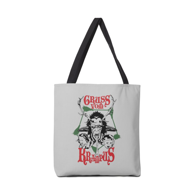 Gruss vom Krampus Accessories Bag by ArtSkull's Threadless Shop